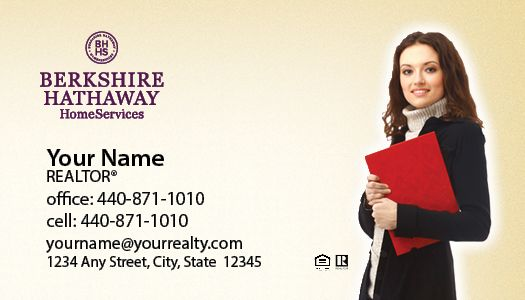berkshire hathaway business cards package style 23 - Berkshire Hathaway Business Cards
