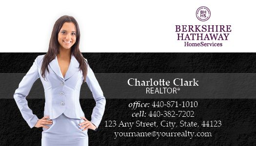 berkshire hathaway business cards package style 39 - Berkshire Hathaway Business Cards