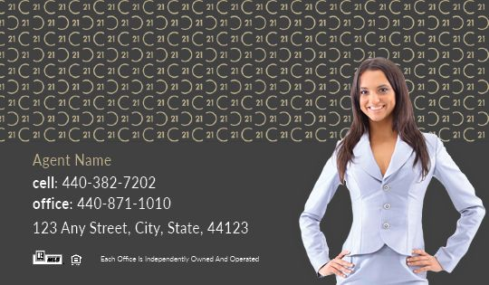 Century 21 Business Cards Package Style 12