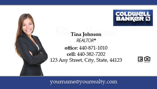 Coldwell banker business cards package style 32 colourmoves