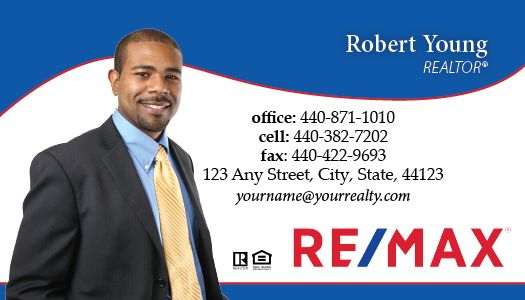 Remax business cards package style 36 colourmoves