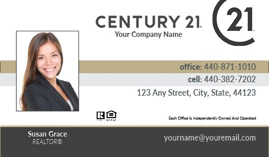 Century 21 Business Cards Package Style 13