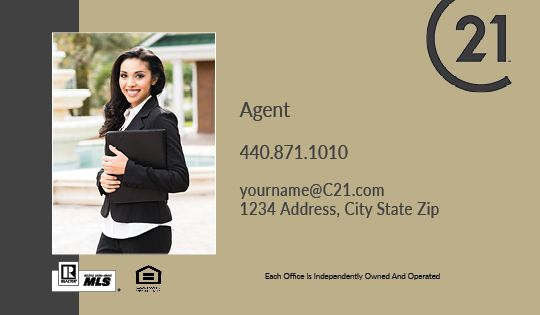 Century 21 Business Cards Package Style 23
