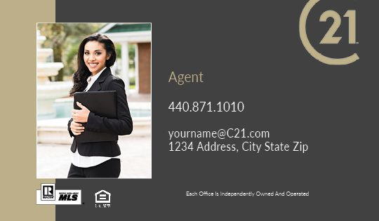 Century 21 Business Cards Package Style 24