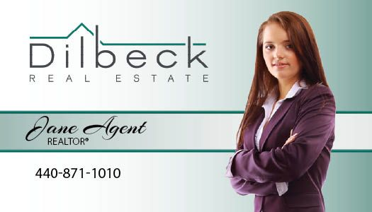 Dilbeck Real Estate Business Cards Package Style 28